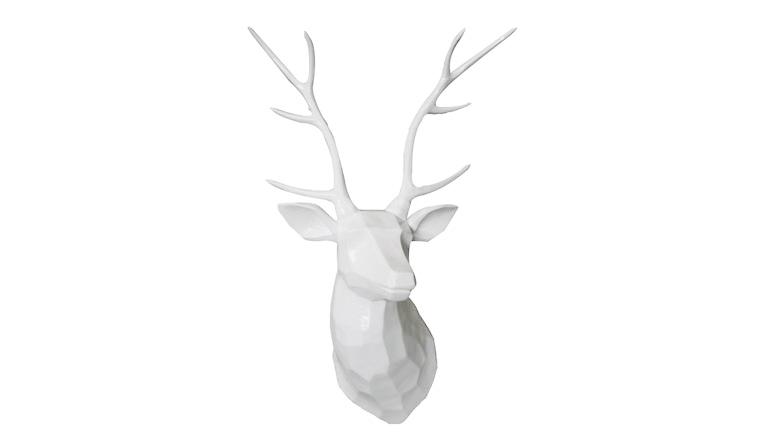 Le blog mobiliermoss nos id es cadeaux f te des m res et des p res - Tete de cerf blanche ...