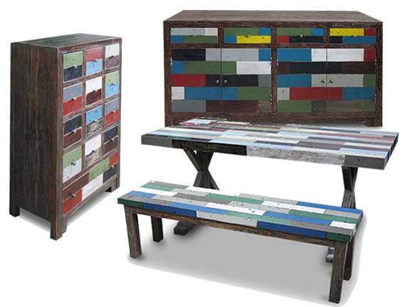 Le blog mobiliermoss meubles en mati re brute color e for Couleur de meuble tendance