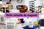Une visite à 360° du showroom MobilierMoss de Castres