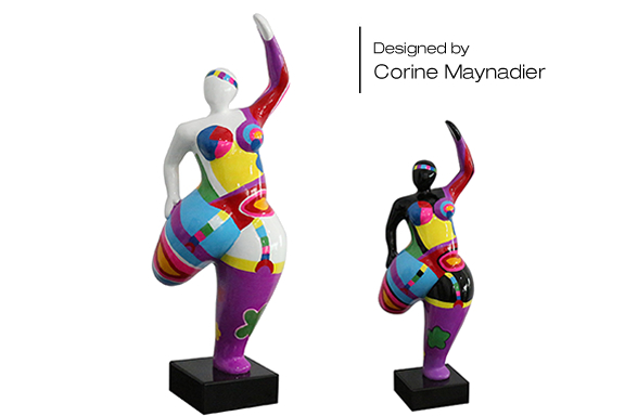 Les statues Bahia, créations de Corine Maynadier