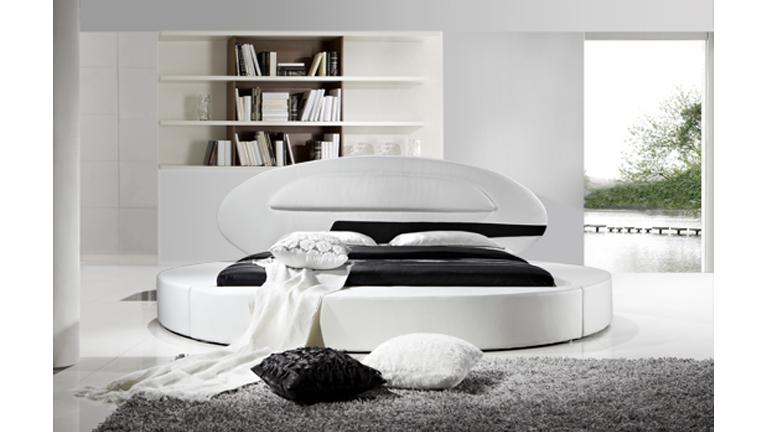 stunning with lit rond noir. Black Bedroom Furniture Sets. Home Design Ideas