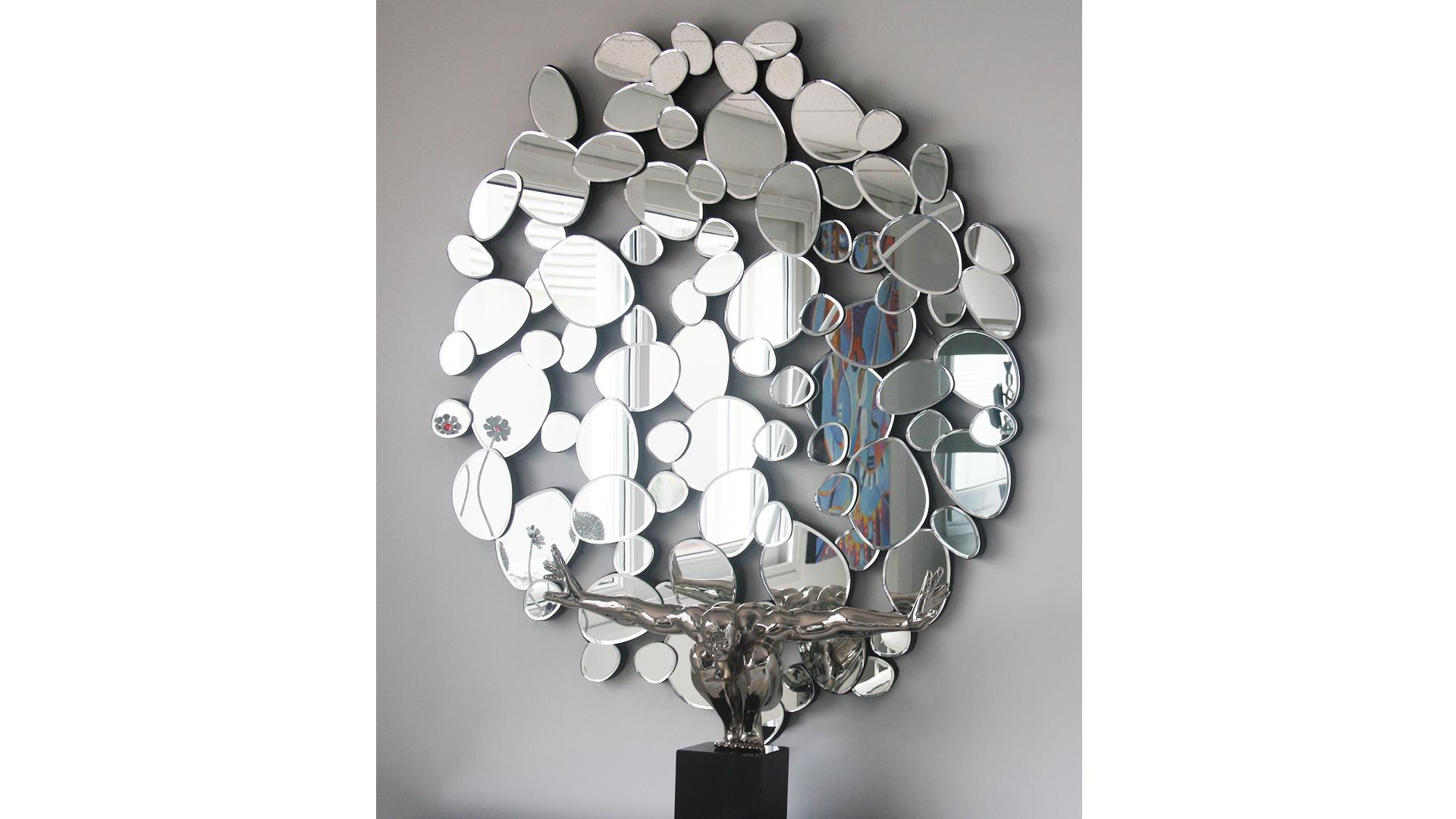 Le blog mobiliermoss zoom sur les bons plans des soldes - Miroir rond 120 cm ...