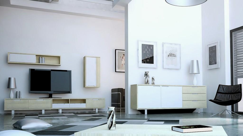 le blog mobiliermoss am nager un loft contemporain avec. Black Bedroom Furniture Sets. Home Design Ideas