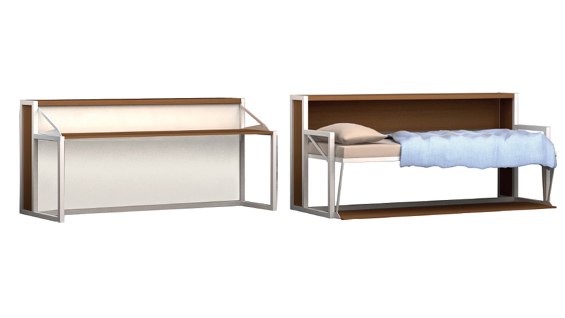 Le blog mobiliermoss toutes nos solutions gain de place - Lit escamotable 2 places ...