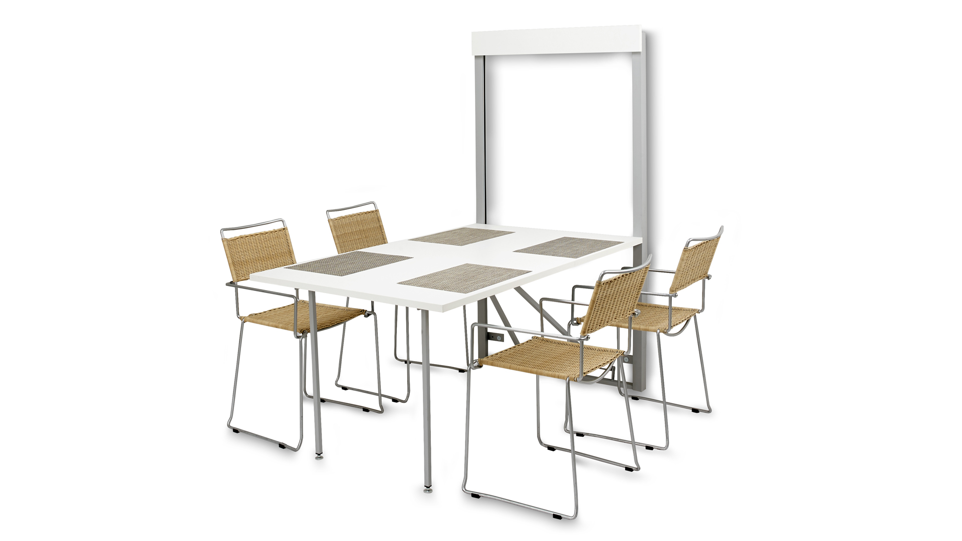 Le blog mobiliermoss toutes nos solutions gain de place for Table a manger murale