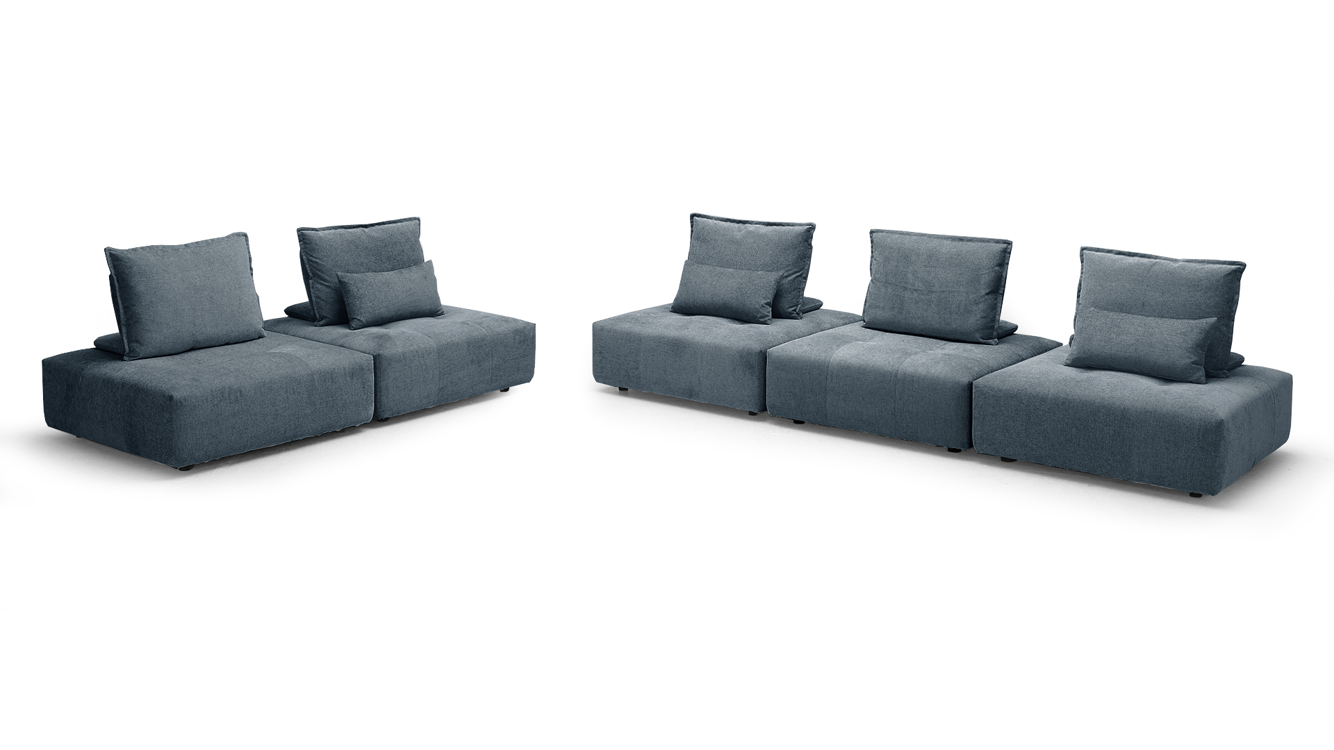 canape 5places separe modulable tissu bleu b599 dossier deplacable larvik mobiliermoss le blog. Black Bedroom Furniture Sets. Home Design Ideas