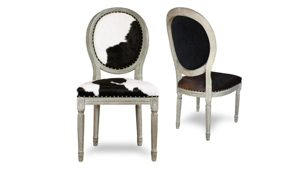 chaise-medaillon-peau-de-vache-pied-bois-cow-mobiliermoss