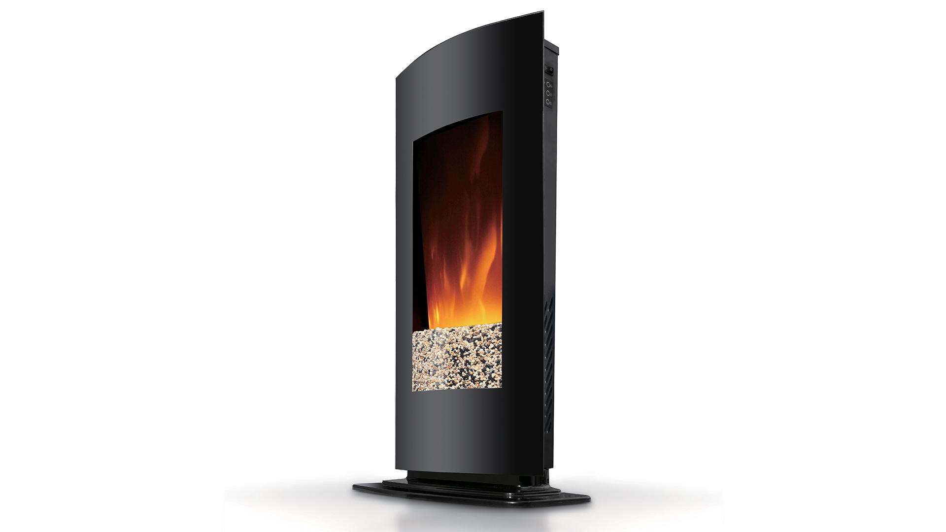 cheminee electrique verticale