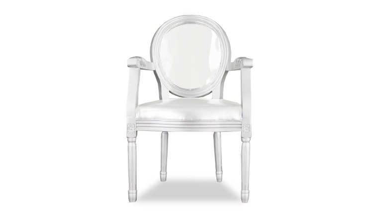 chaise-medaillon-accoudoirs-blanc-glossy-face-mobiliermoss