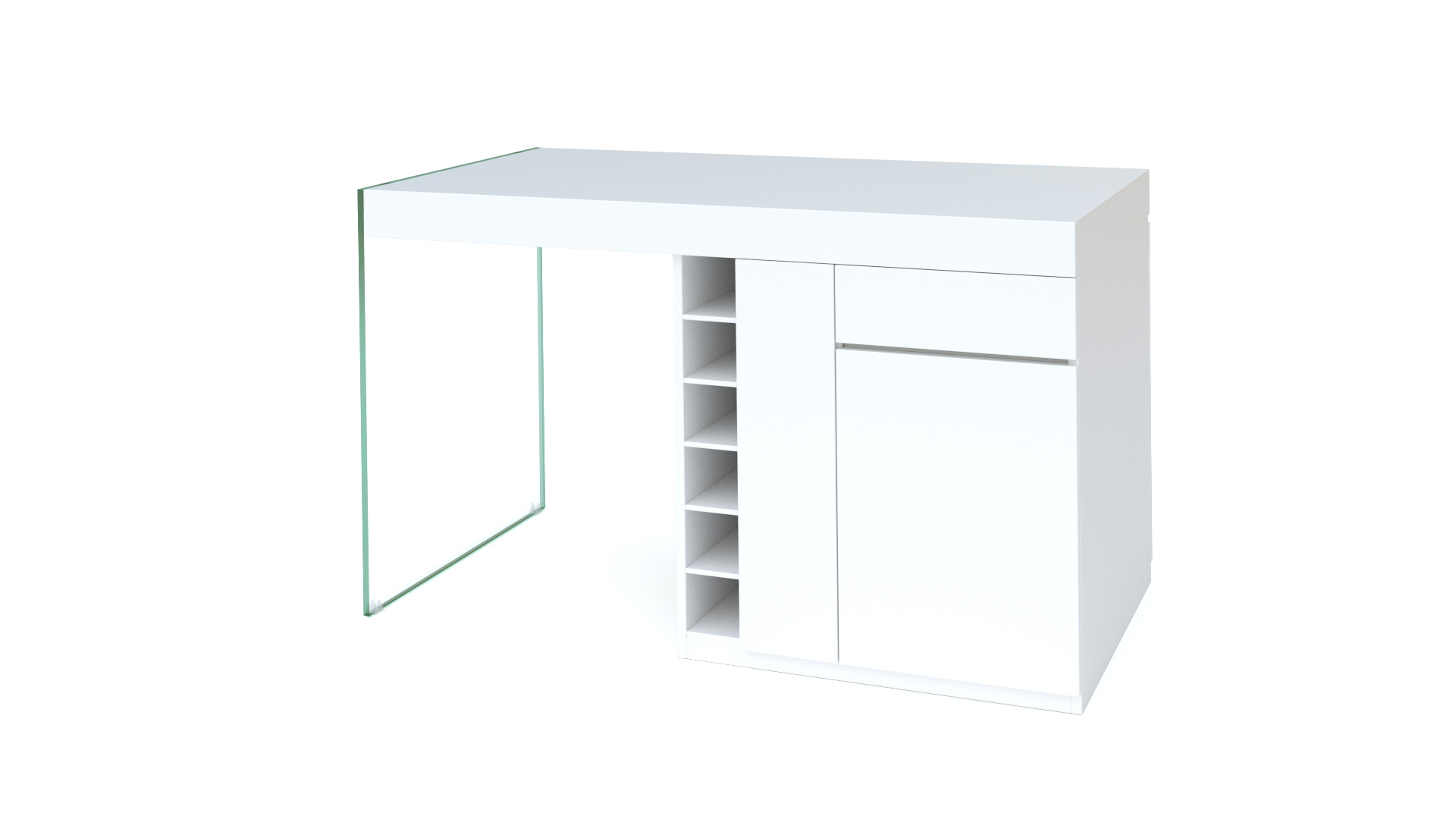 Le blog mobiliermoss lot central de cuisine 3 for Ensemble de cuisine blanc