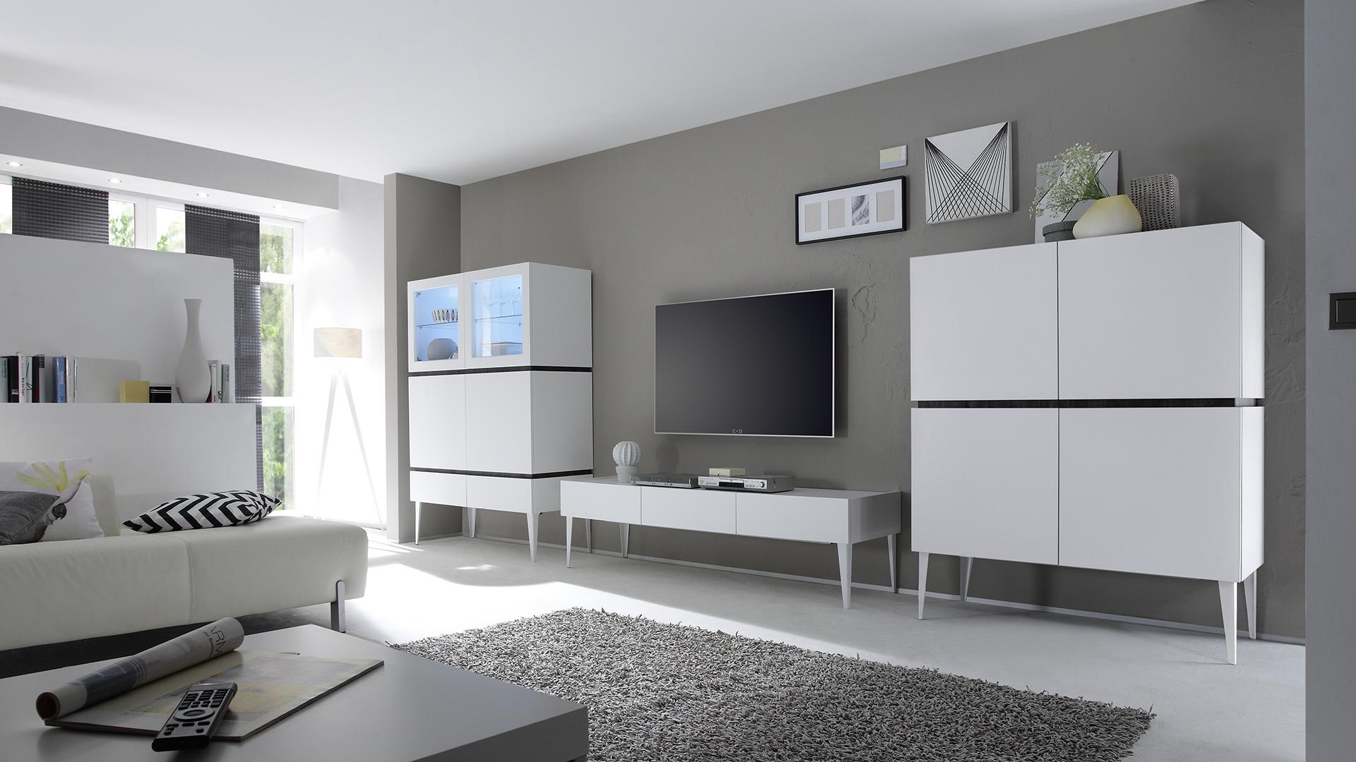 Le Blog Mobiliermoss Galatik La Nouvelle Gamme Tendance De  # Meuble Salon Design Laque Blanc