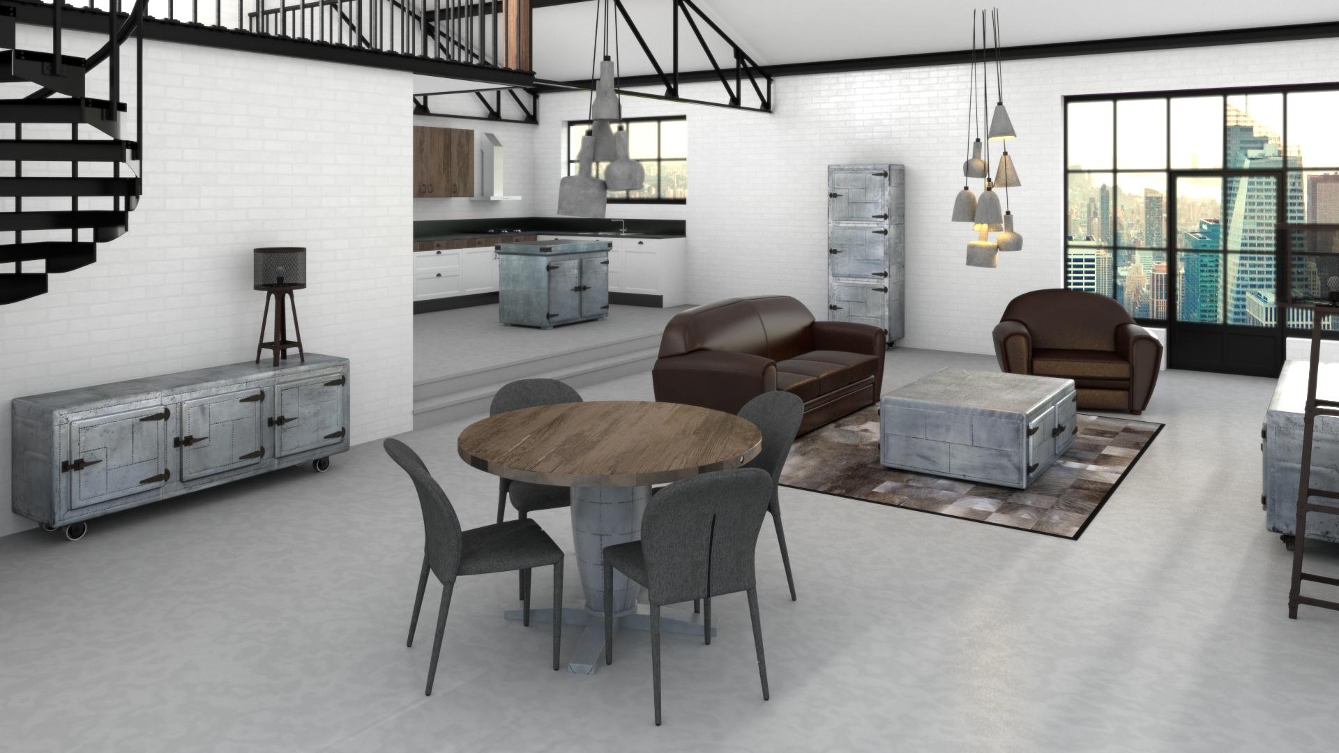 Le blog mobiliermoss cr er un coin repas convivial for Cuisine salle a manger