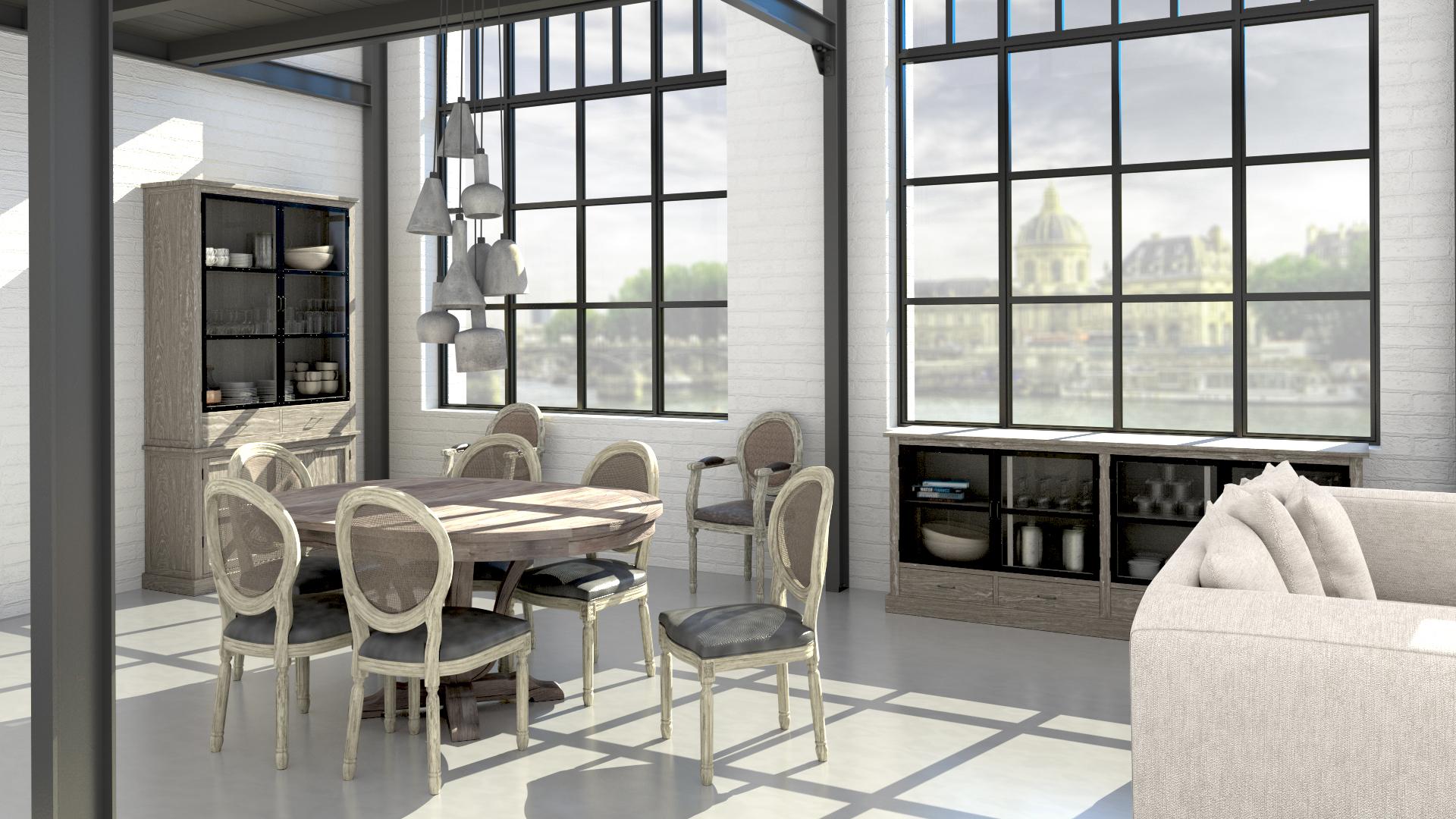 Le blog mobiliermoss cr er un coin repas convivial etape 2 l lot de cuisine - Salle a manger tendance ...
