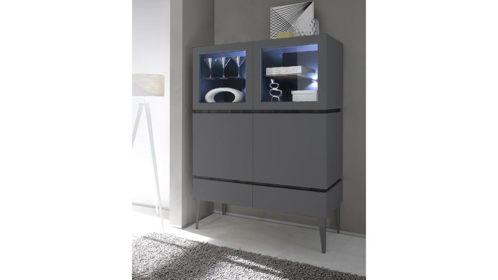 Rangement-4portes-2vitree-2pleines-led-2tiroirs-laque-mat-gris-b-galatik-mobiliermoss
