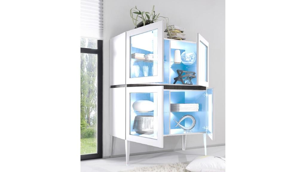Rangement-4portes-vitrees-sur-pieds-laque-mat-blanc-b-galatik-mobiliermoss