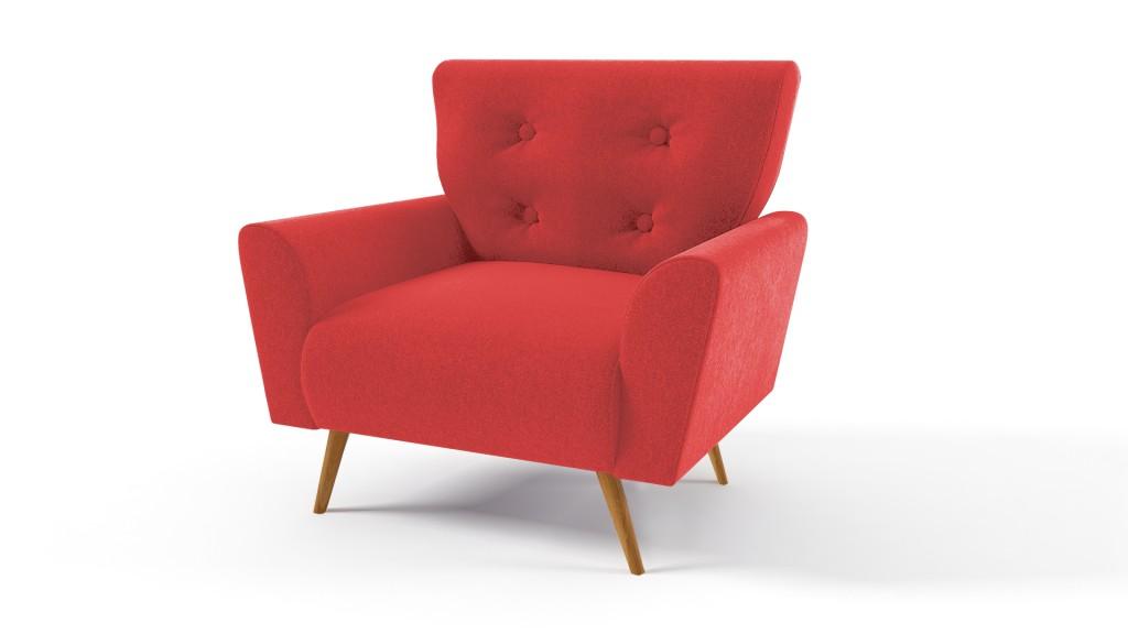 fauteuil-scandinave-capitonne-tissu-rouge60-palloma-mobiliermoss