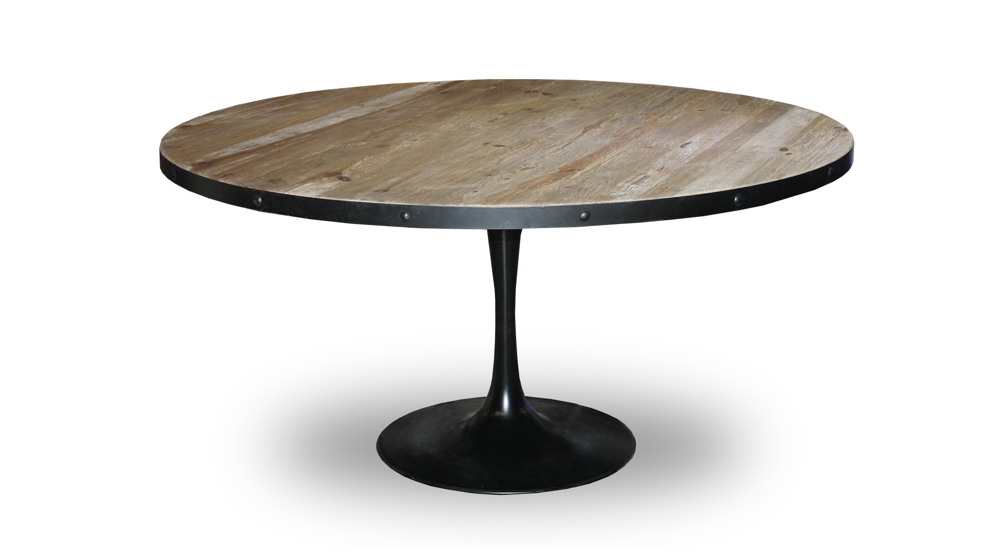 Le blog mobiliermoss cr er un coin repas convivial for Table ronde style industriel