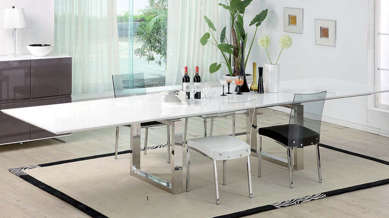 vente table design extensible majestic avec rallonges mobiliermoss le blog mobilier moss. Black Bedroom Furniture Sets. Home Design Ideas