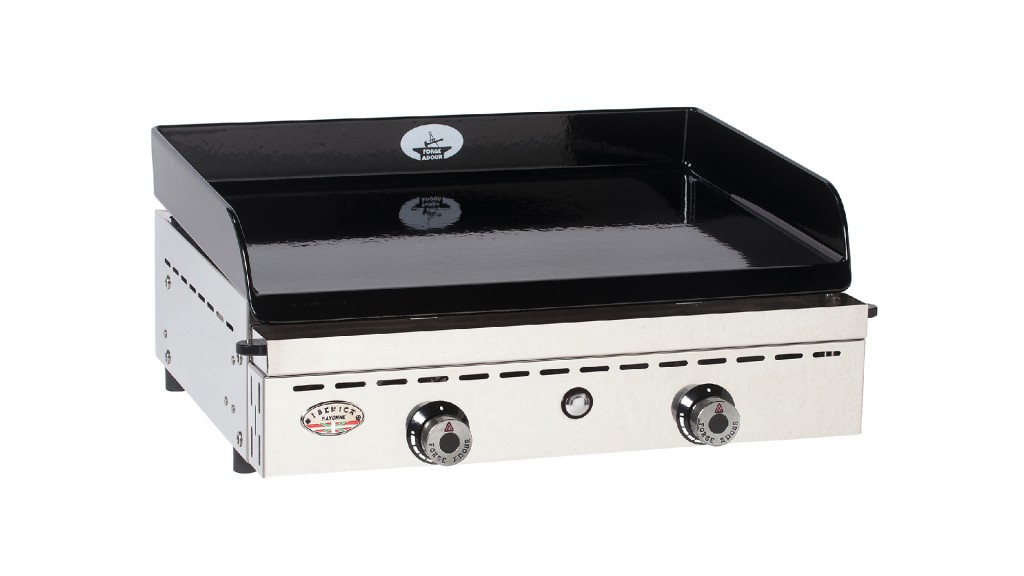 plancha-fonte-emaillee-forge-adour-chassis-inox-iberica-600-mobiliermoss