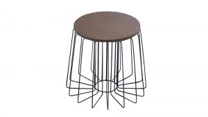 table-appoint-ronde-pied-metal-noir-polateau-bois-arendal-mobiliermoss