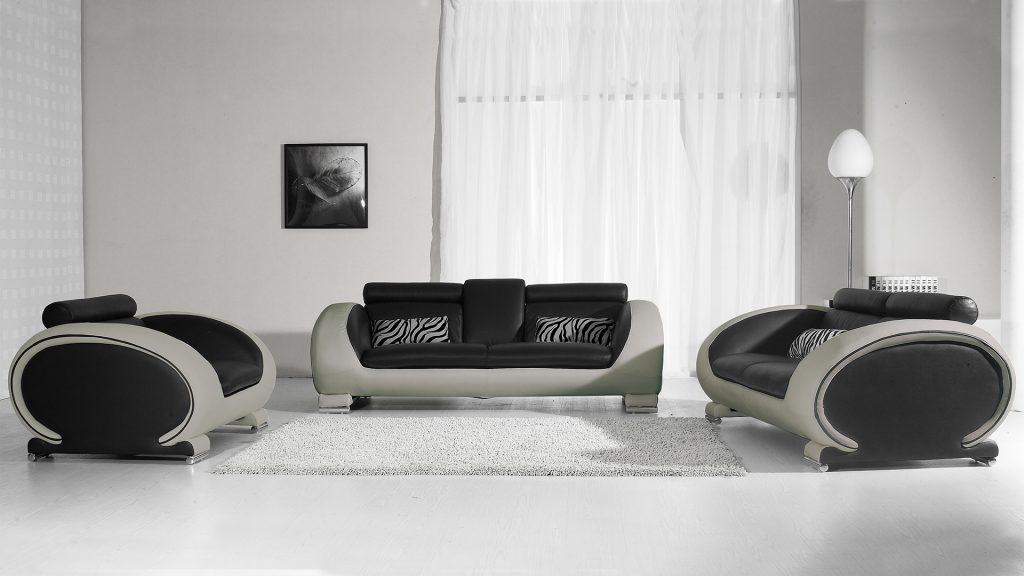 salon-canape-cuir-design-assise-noire-cote-gris-okyo-mobiliermoss