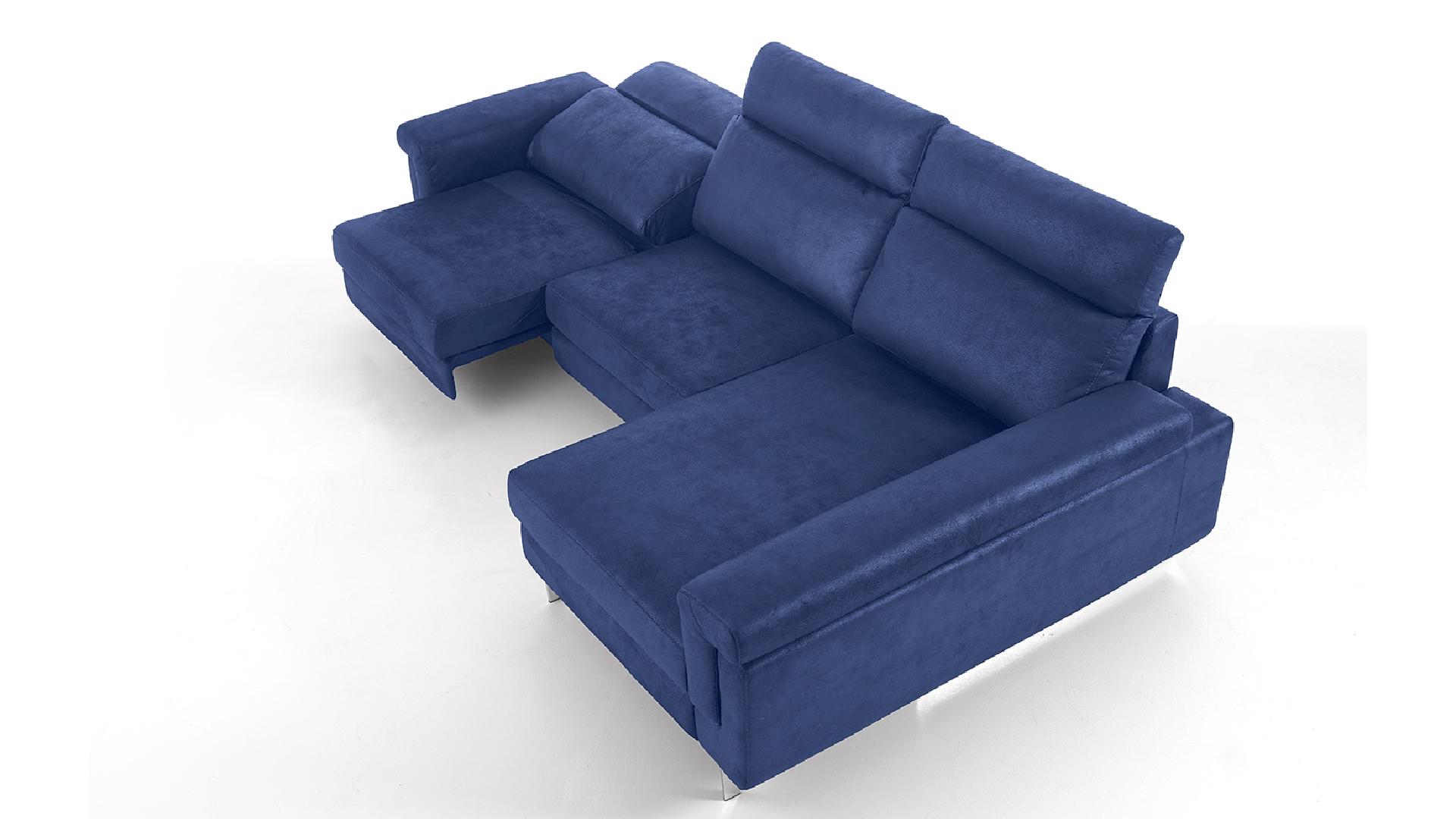 le blog mobiliermoss canape relax tissu bleu 2 places meridienne canelo mobiliermoss. Black Bedroom Furniture Sets. Home Design Ideas