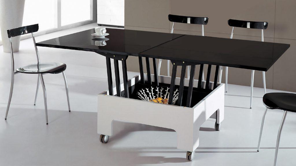 table-basse-laquee-relevable-salle-a-manger-plateau-noir-pied-blanc-zebra-mobiliermoss