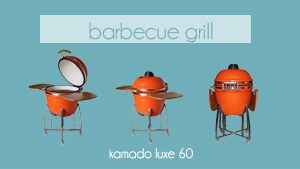 Babecue grill kamado luxe 60 chez MobilierMosss