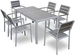 table et chaise de jardin - Giany - MobilierMoss