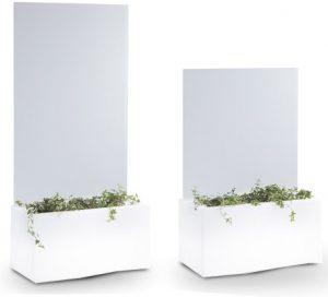 jardinière cloison avec éclairage - privé - MobilierMoss