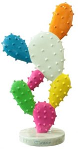 statue multicolore - Cactus - MobilierMoss