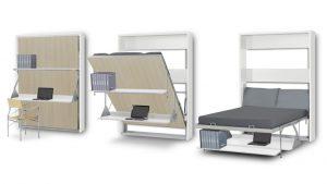 lit escamotable avec bureau - Mobiliermoss