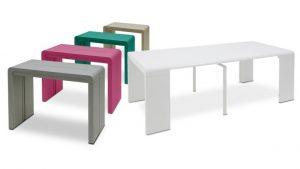 Console transformable en table à diner - Clodia - table étirable - MobilierMoss