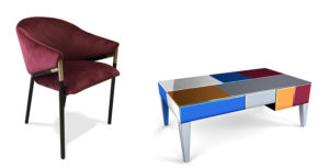 Chaise Maryse Table Basse Mona Mobiliermoss Le Blog