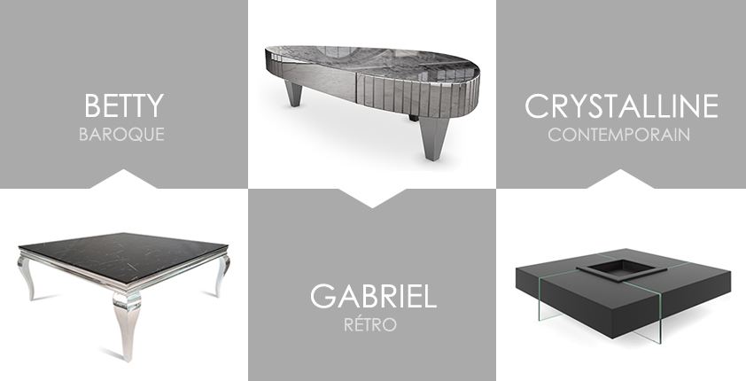 Quel style pour votre table basse ?