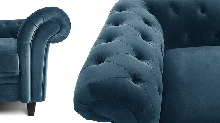 Vous rêvez d'un espace cocooning et chaleureux ?                                            Le velours est fait pour vous!